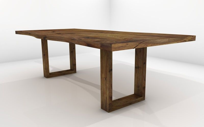 Sagitta Dining Table - Sustainable Solid Wood Dining Room Furniture ...