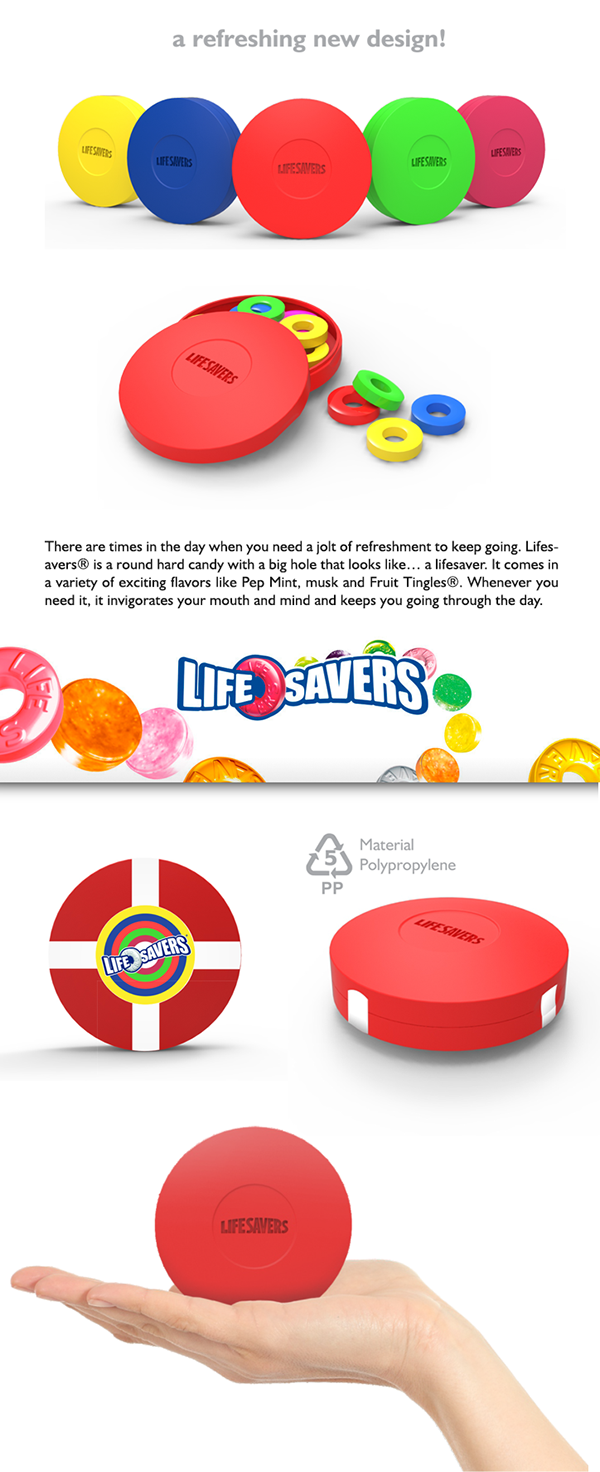 Lifesavers Candybox On Behance Life Savers My Design Design