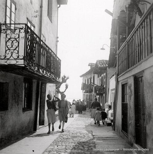 Portuzarra kalea / Calle Portuzarra, Algorta (Colección Daniel Zubimendi) (ref. Z00912)