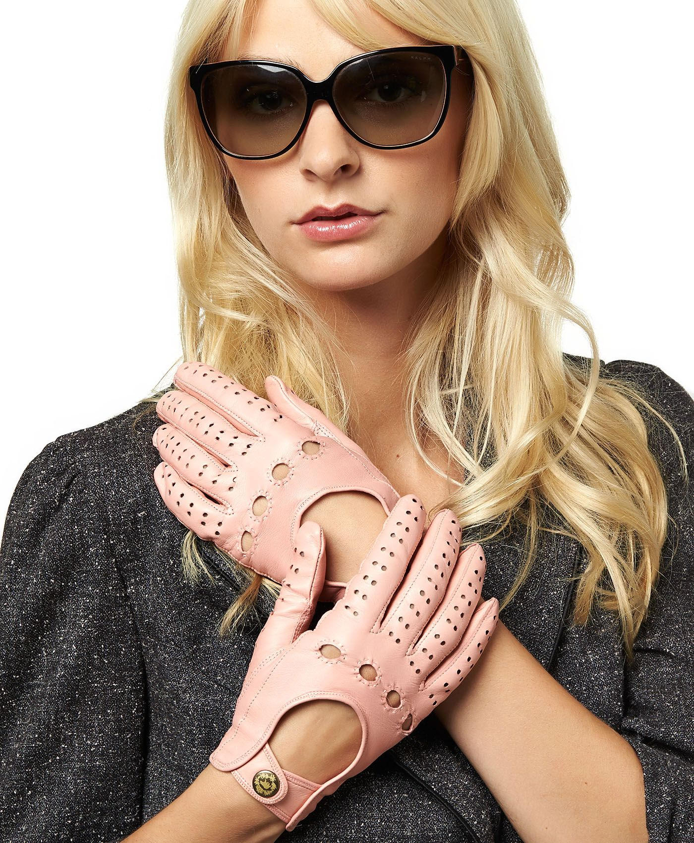 Ladies leather gloves xs - Women S Italian Leather Driving Gloves By Fratelli Orsini Free Usa Shipping