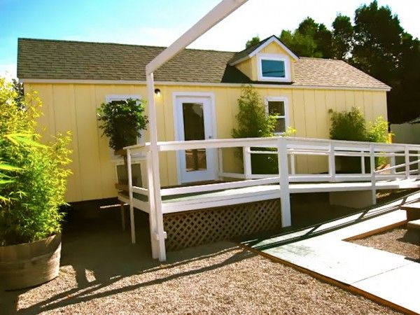 400 Sq Ft Home Care Cottage With A Ramp For Full