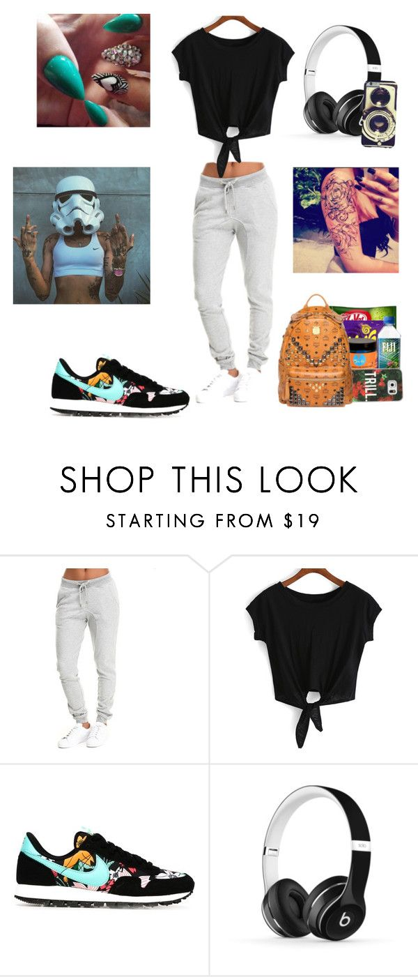 """""""Untitled #30"""" by dannaamacias ❤ liked on Polyvore featuring NIKE, Beats by Dr. Dre, women's clothing, women's fashion, women, female, woman, misses and juniors"""
