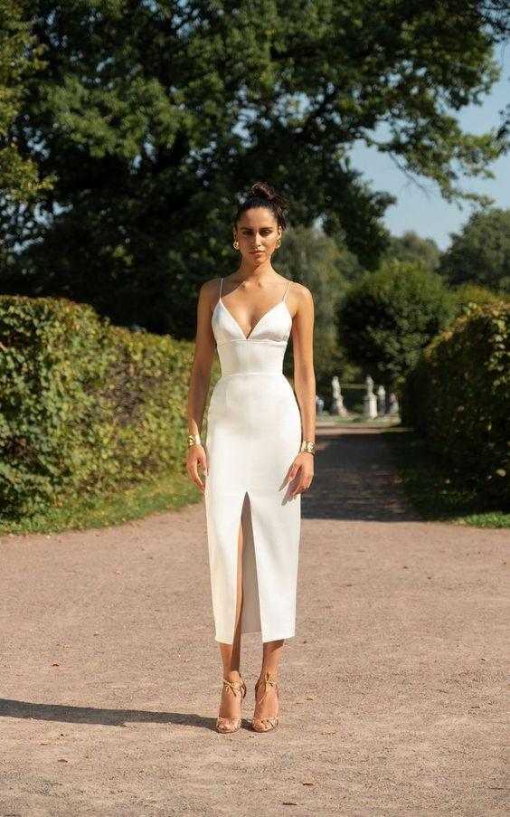 11 Wie man Weiß trägt und nicht wie eine Braut aussieht - Mode Tipps #hochzeitskleiderhäkeln