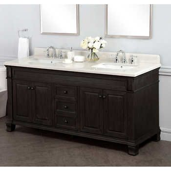 Camden 72 Double Sink Vanity By Mission Hills
