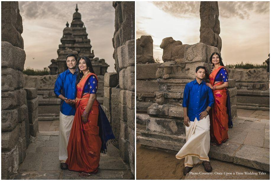 Spandana And Dhinesh Wedding Photoshoot Photoshoot Couple