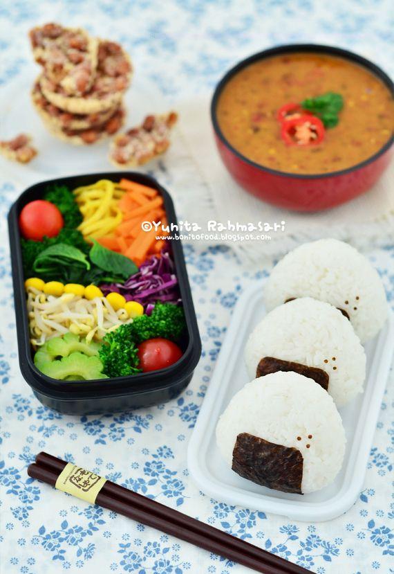 bonita food colorful pecel bento rainbow pecel an interview with