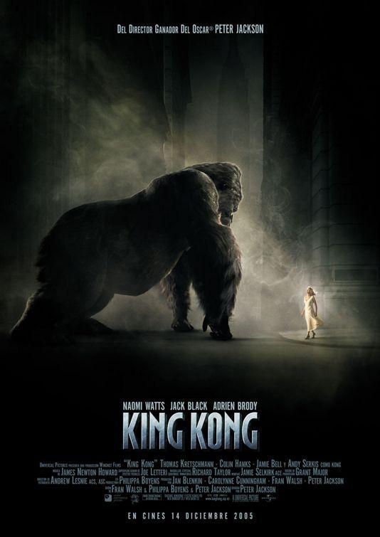 Resultado de imagem para king kong 2005 poster