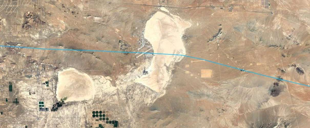 The Russians Just Did A Fly By Of Area 51 The Drive Edwards Air Force Base Military Open Sky