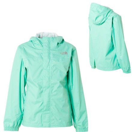 Mint green North Face.