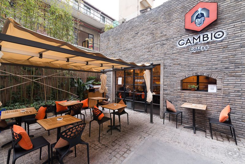 Cambio Coffee Amazing Terrasse Shanghai Commercial Project