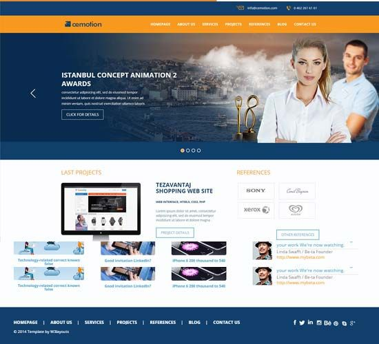 Bootstrap Website Templates Computer Repair Template  Free Templates Download Templates Free