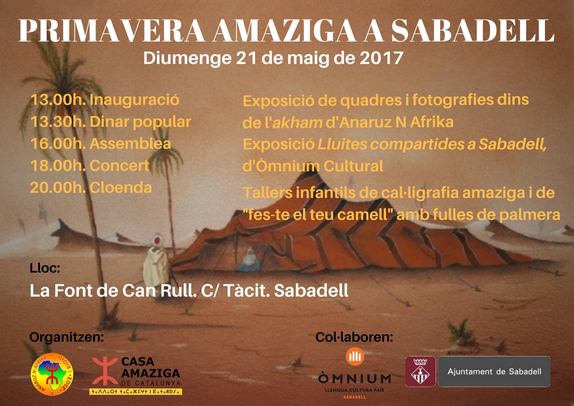 Primavera amaziga a Sabadell 2017