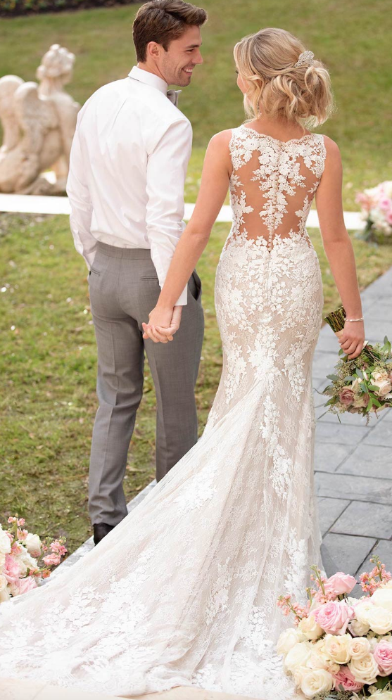 Swoon-Worthy Fall 2019 Stella York Wedding Dresses with Casual Elegance