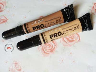 RANDOM THOUGHTS.: [Review]: L.A Girl Pro Concealer High Definition