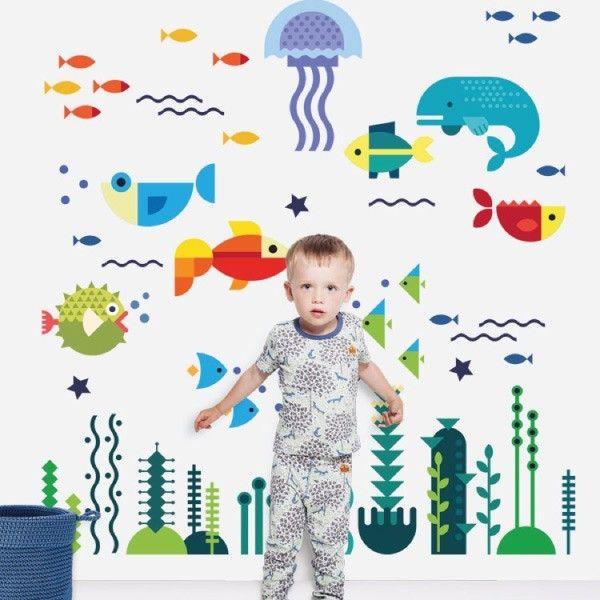 Marine life infantil my vinilo vinilos decorativos decoraci n de pared papel tapiz - Donde venden vinilos decorativos ...
