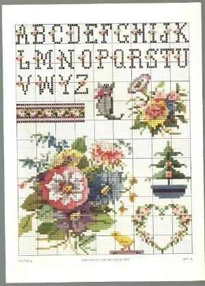Free Cross Stitch Patterns By Alissa 1hackovani Jednoduch