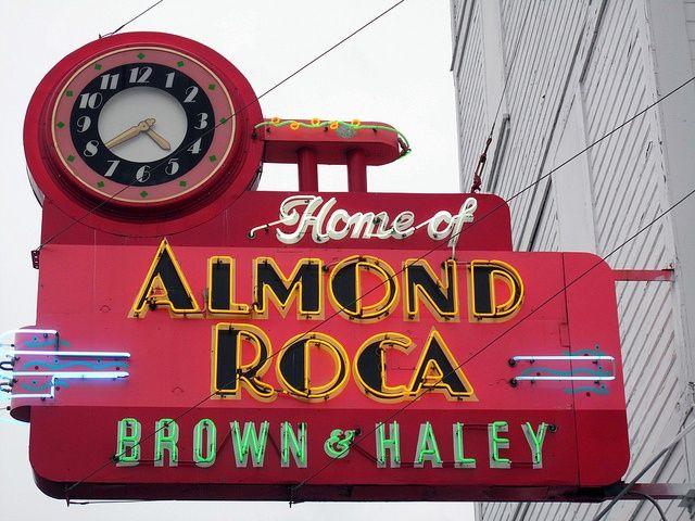 Brown Haley Old Neon Signs Neon Signs Tacoma Washington