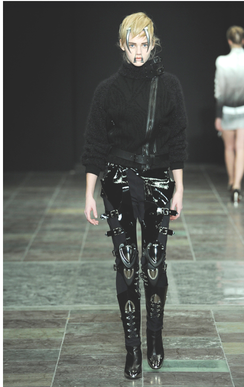 Great Danes! Check out this absolutely ferocious look from Copenhagen Fashion Week.