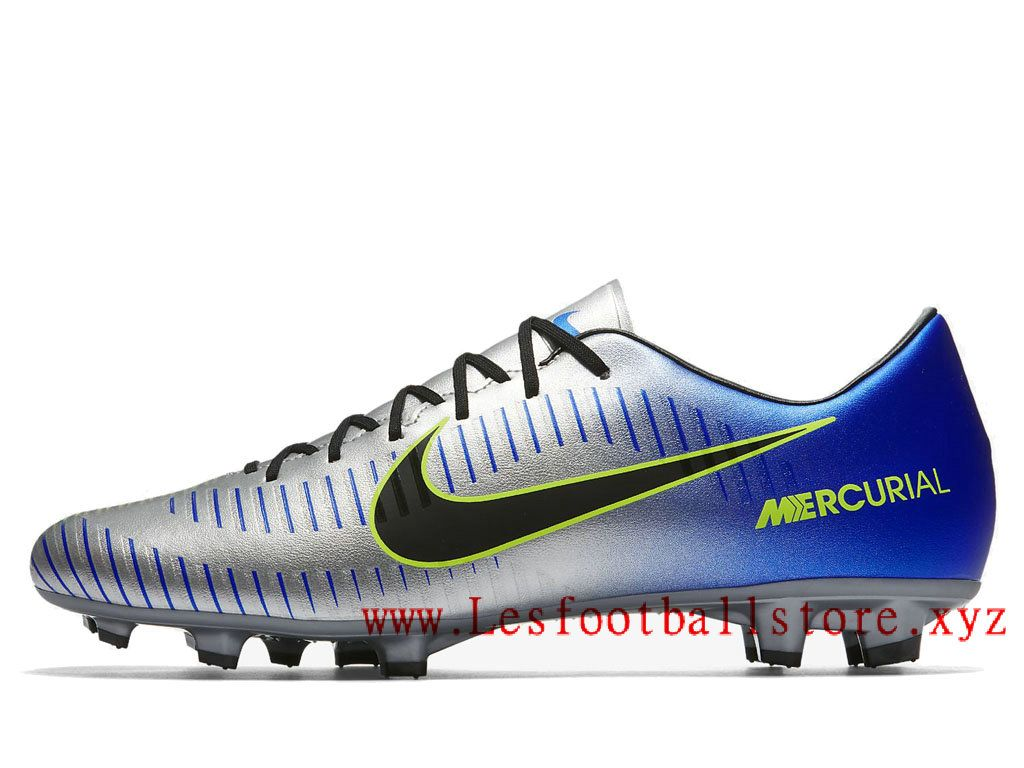 Chaussures Nike Mercurial Victory bleues homme FC8qH4lJI