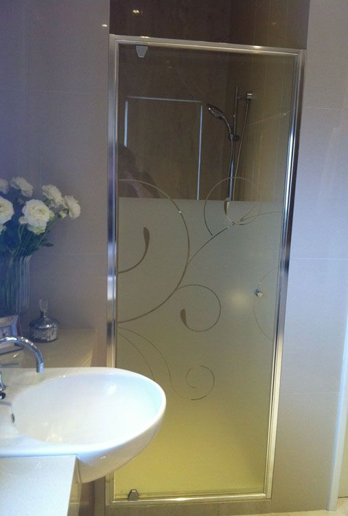 Diy Frosted Glass Shower Doors Privacy Window Film Shower Door. Use Frosted  Window Films To