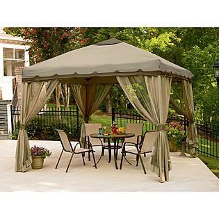 Essential Garden Garden Pop Up Gazebo Backyard Gazebo Canopy Tent Outdoor Patio Gazebo