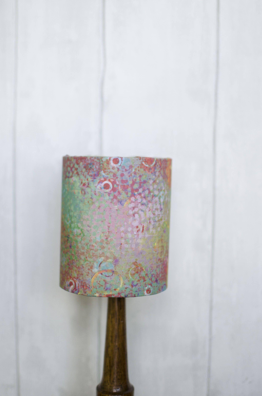 Statement Lampshade Bright Lampshade Green Lamp Shade Rainbow