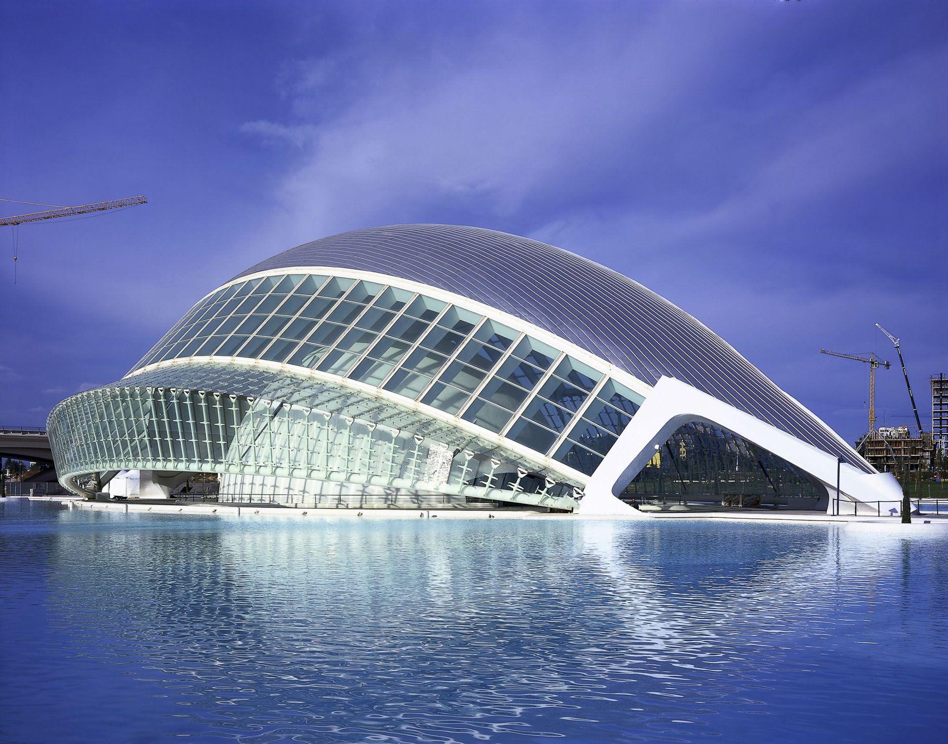 Http Www Calatrava Com Projects Ciudad De Las Artes Y De Las Ciencias Valencia Html View Mode Gallery Ciudad De Las Artes Ciudades Santiago Calatrava
