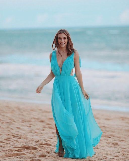 11778ec72 10 vestidos para madrinhas de casamento na praia e dicas para não errar no  look - Madrinhas de casamento