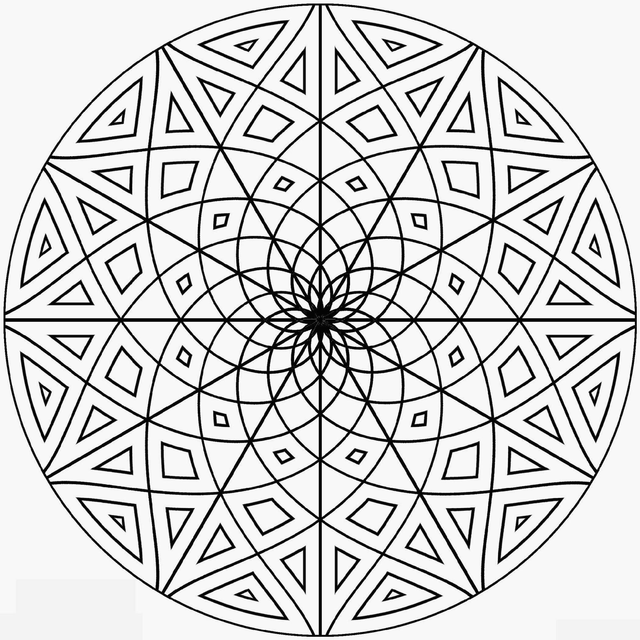 Free coloring pages mandalas