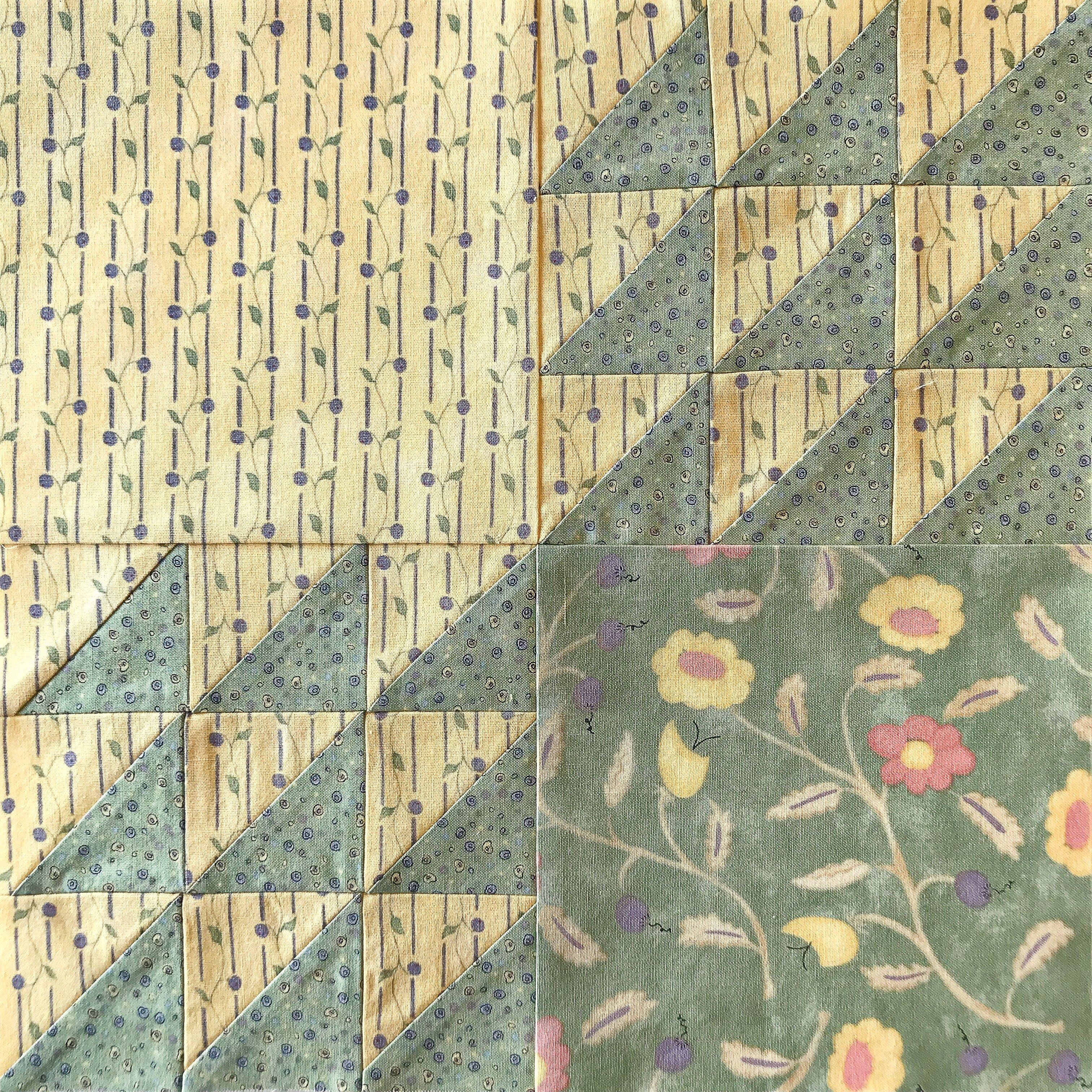 Wild Geese Straight Furrows | Flying geese, Patchwork and Half ...