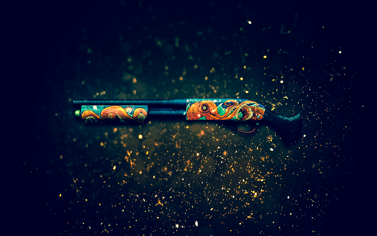 Csgo Weapon Skin Wallpapers On Behance My Csgo Collection