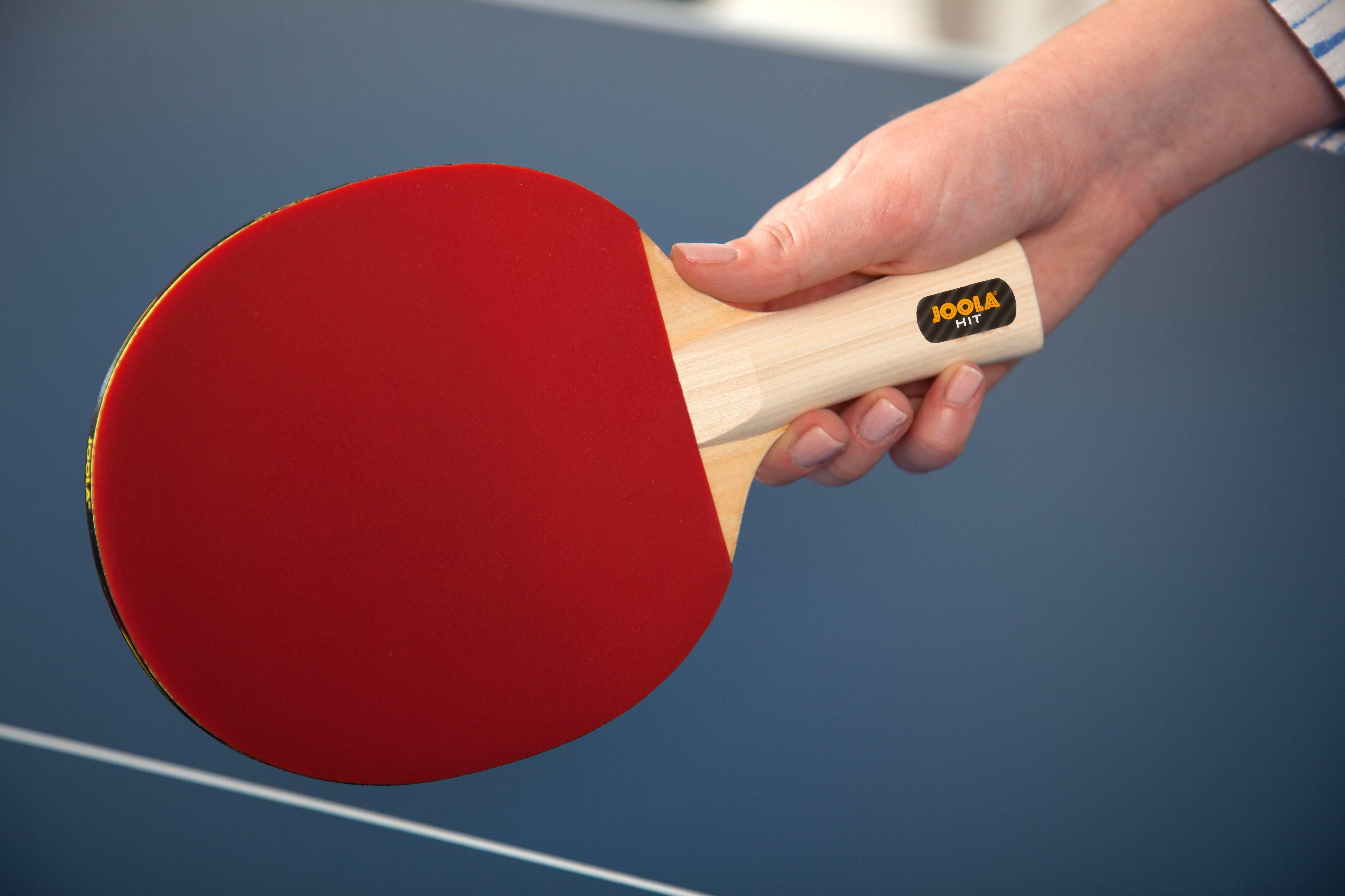 Joola Hit Table Tennis Set Includes 4 Hit Rackets 8 Balls Carrying Case Msrp 44 95 Joola Table Tennis Set Tennis Games Table Tennis