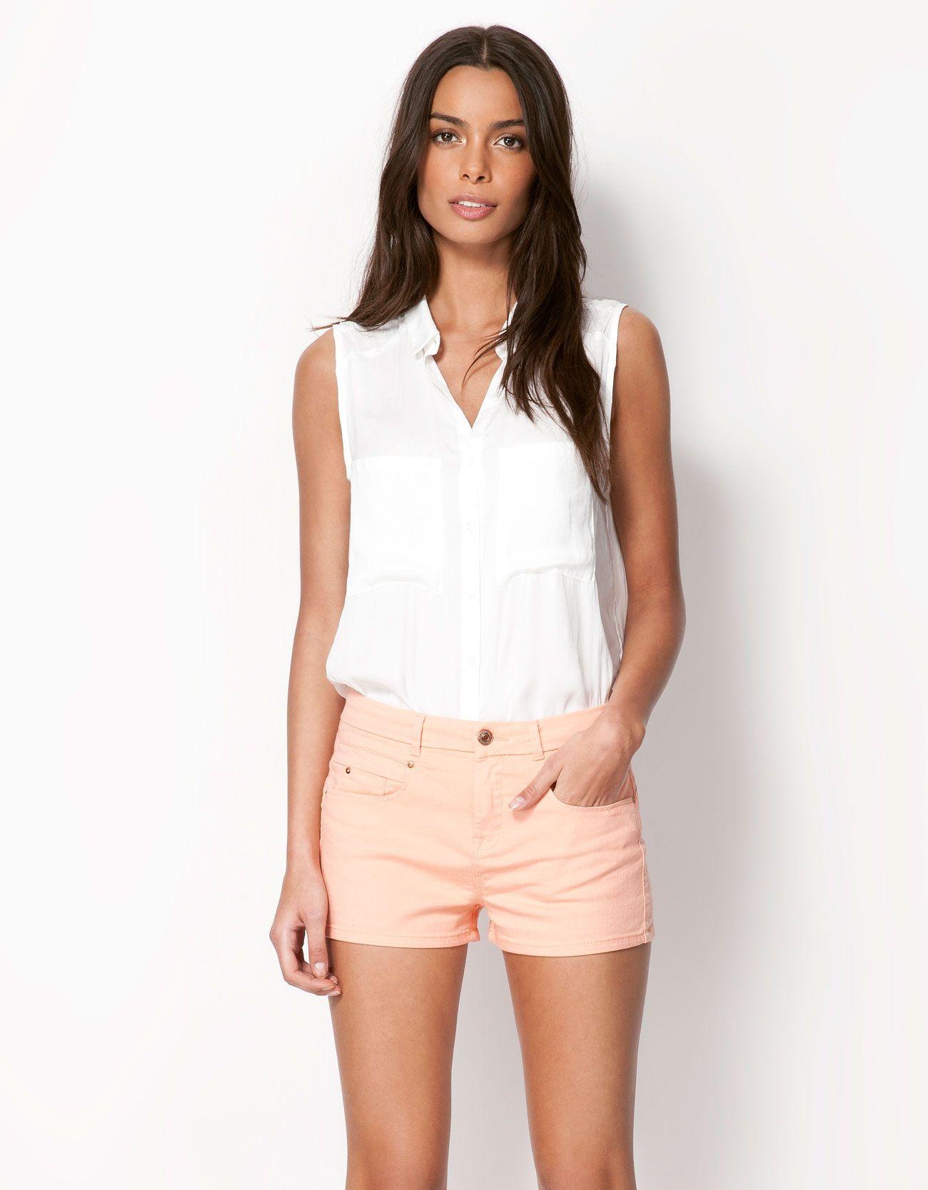 ba7ece1c3252 Bershka Lebanon - Bershka knotted shirt | Clothes & Shoes ...