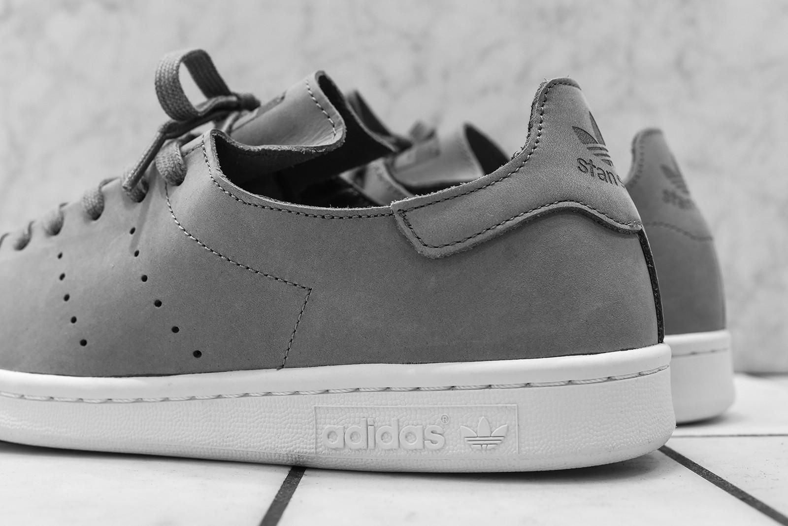undefeated x san francisco large discount adidas Originals Stan Smith Leather Sock - Trace Cargo / Off ...