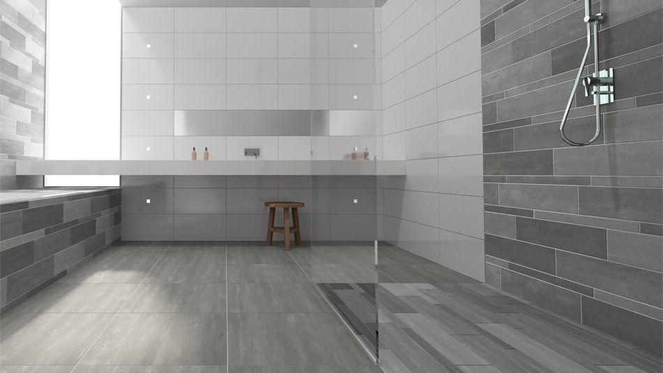 mosa tegels terra tone keramische tegels - moderne badkamers, Badkamer