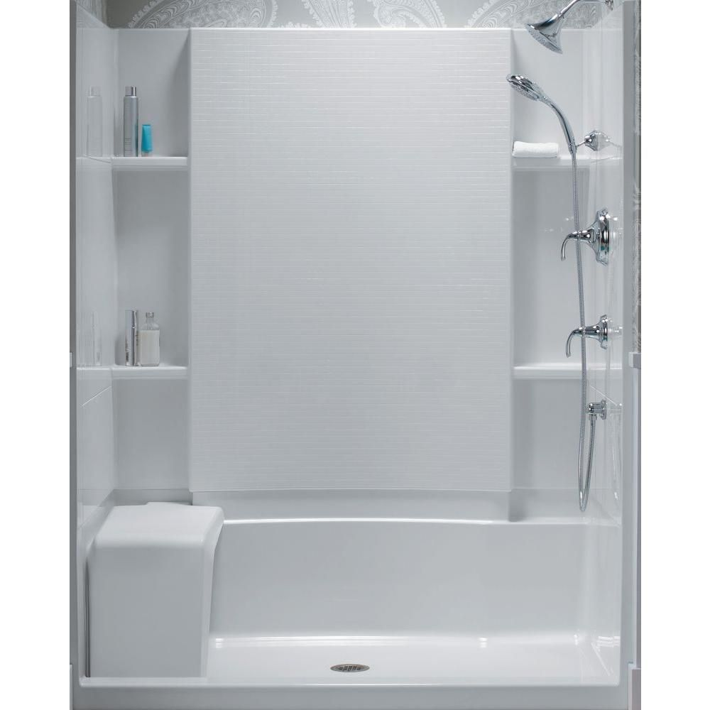 Sterling Accord 36 In X 60 In X 55 1 8 In Bath And