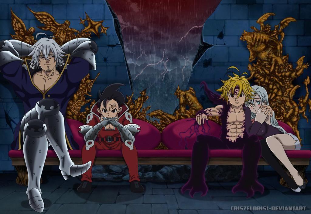 Photo of Brothers -Demons-  Nanatsu no Taizai Cover Page246 by CrisZeldris1 on DeviantArt