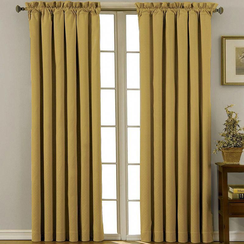 Eclipse Canova Rod Pocket Blackout Curtain Panel Bestblackoutcurtainsforbedroomsandlivingrooms Panel Curtains Eclipse Curtains
