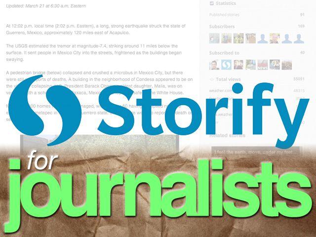 Storify For Journalists Httpdaveburdickwstorify Best