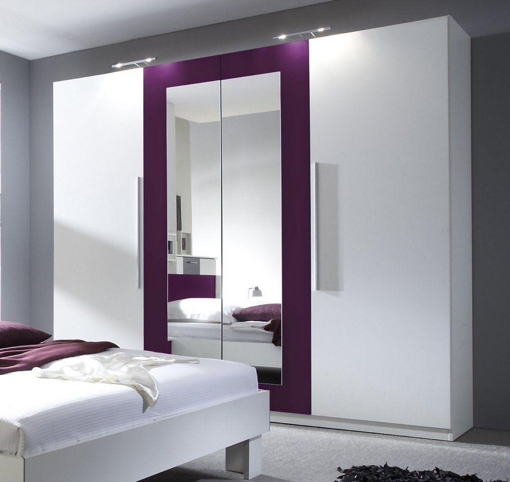 kleiderschrank dreht renschrank schrank schlafzimmer weiss lila neu neue wohnung pinterest. Black Bedroom Furniture Sets. Home Design Ideas