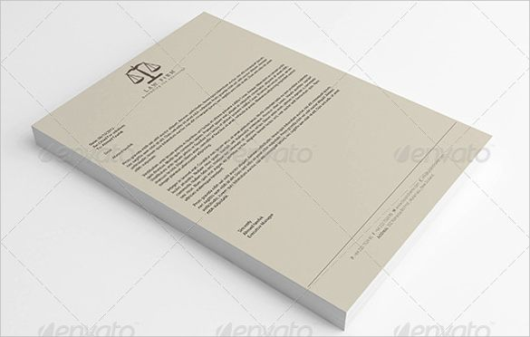 20+ Law Firm Letterhead Templates u2013 Free Sample Example Format - letterheads templates free download