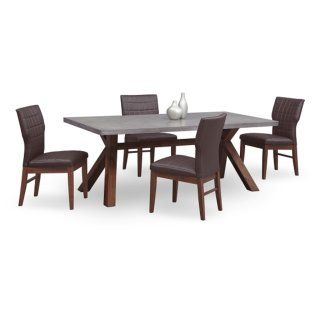 Mercer Concrete Dining Table  American Signature Furniture Captivating American Signature Dining Room Sets Review
