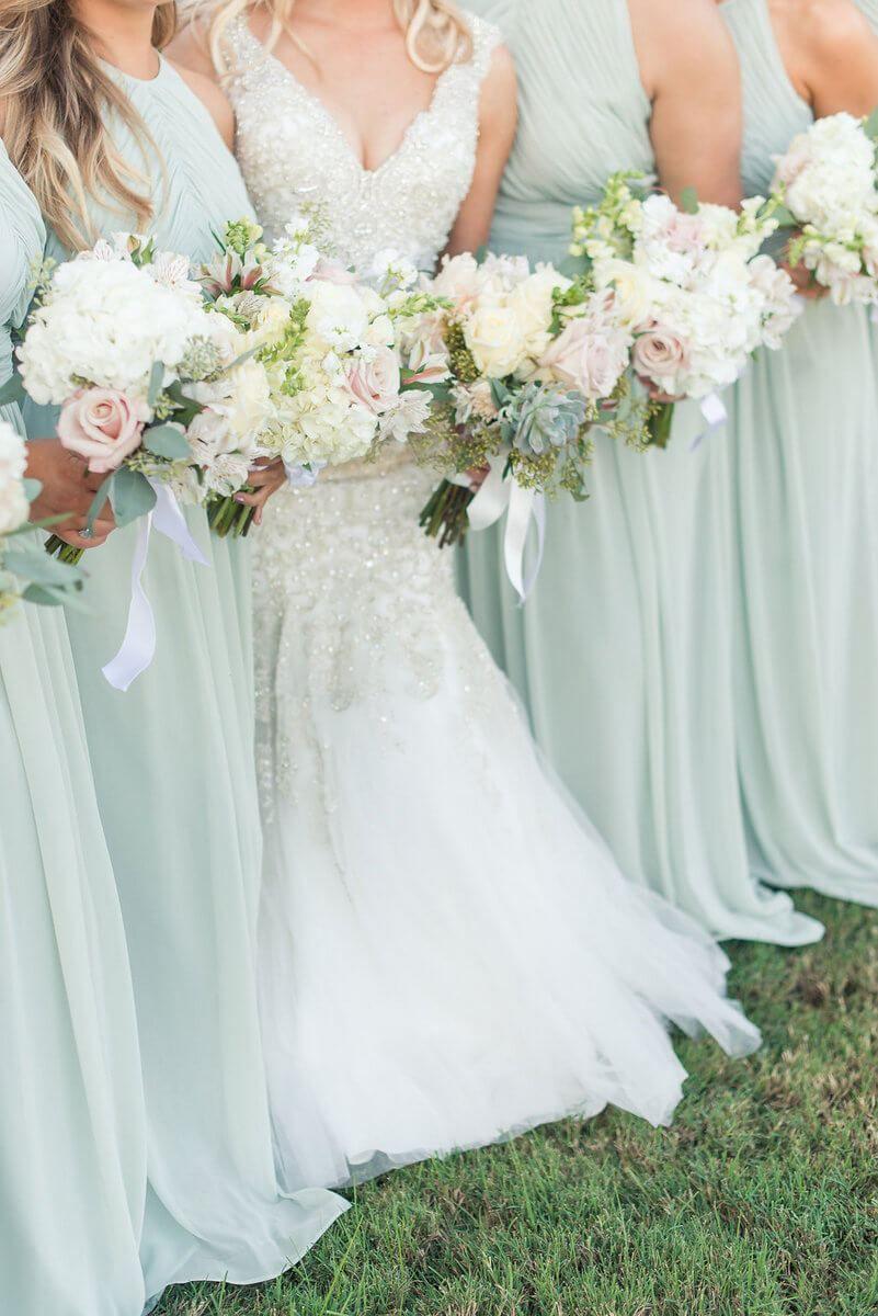 Elegant sage green wedding green wedding dresses sage