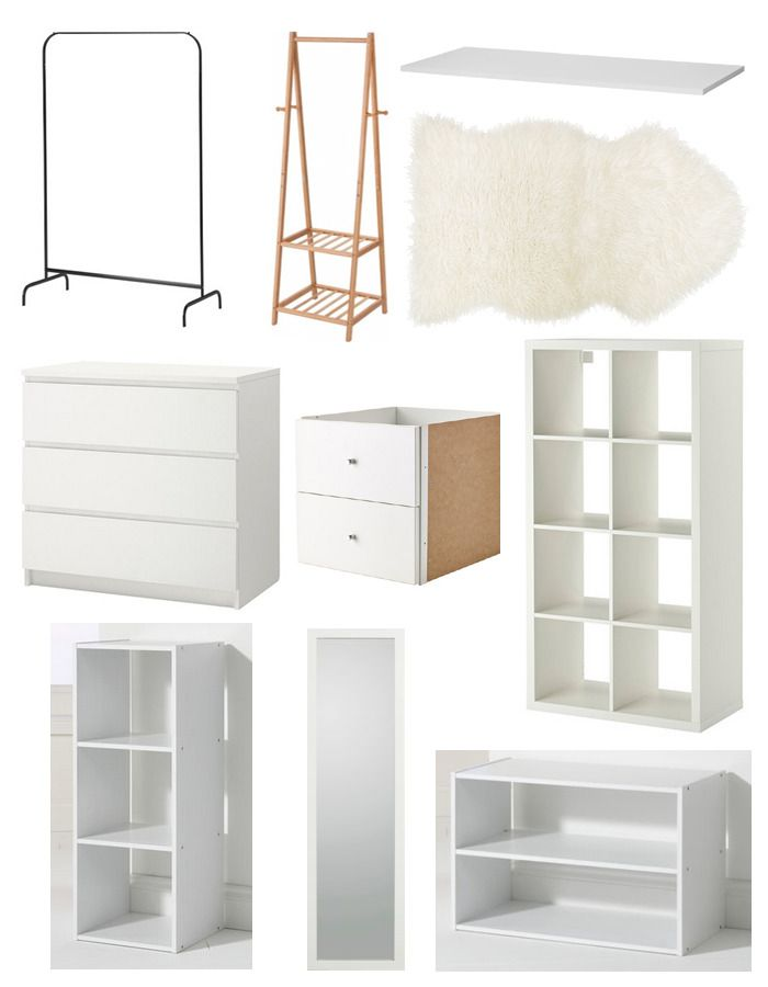 Building An Affordable Dressing Room Storage Ideas Pinterest