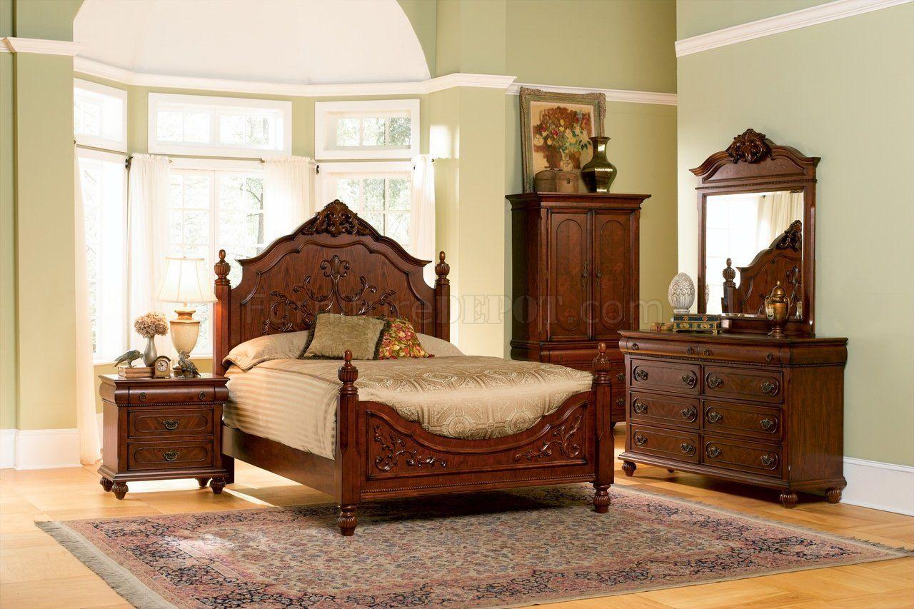 Antique Style Bedroom Furniture Bedroom Sets Furniture Queen Bedroom Set Master Bedroom Set
