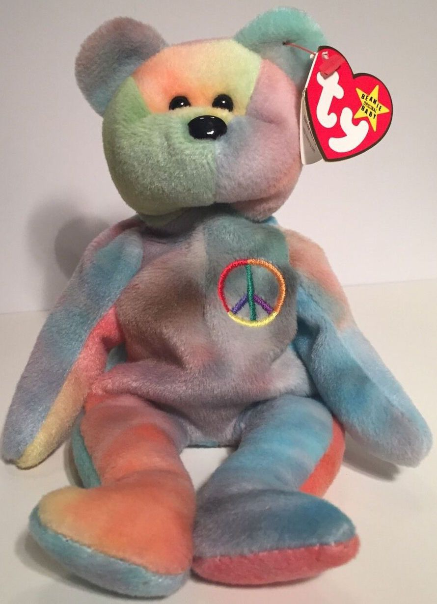 8e34868811b Peace or Garcia Valuable Beanie Babies
