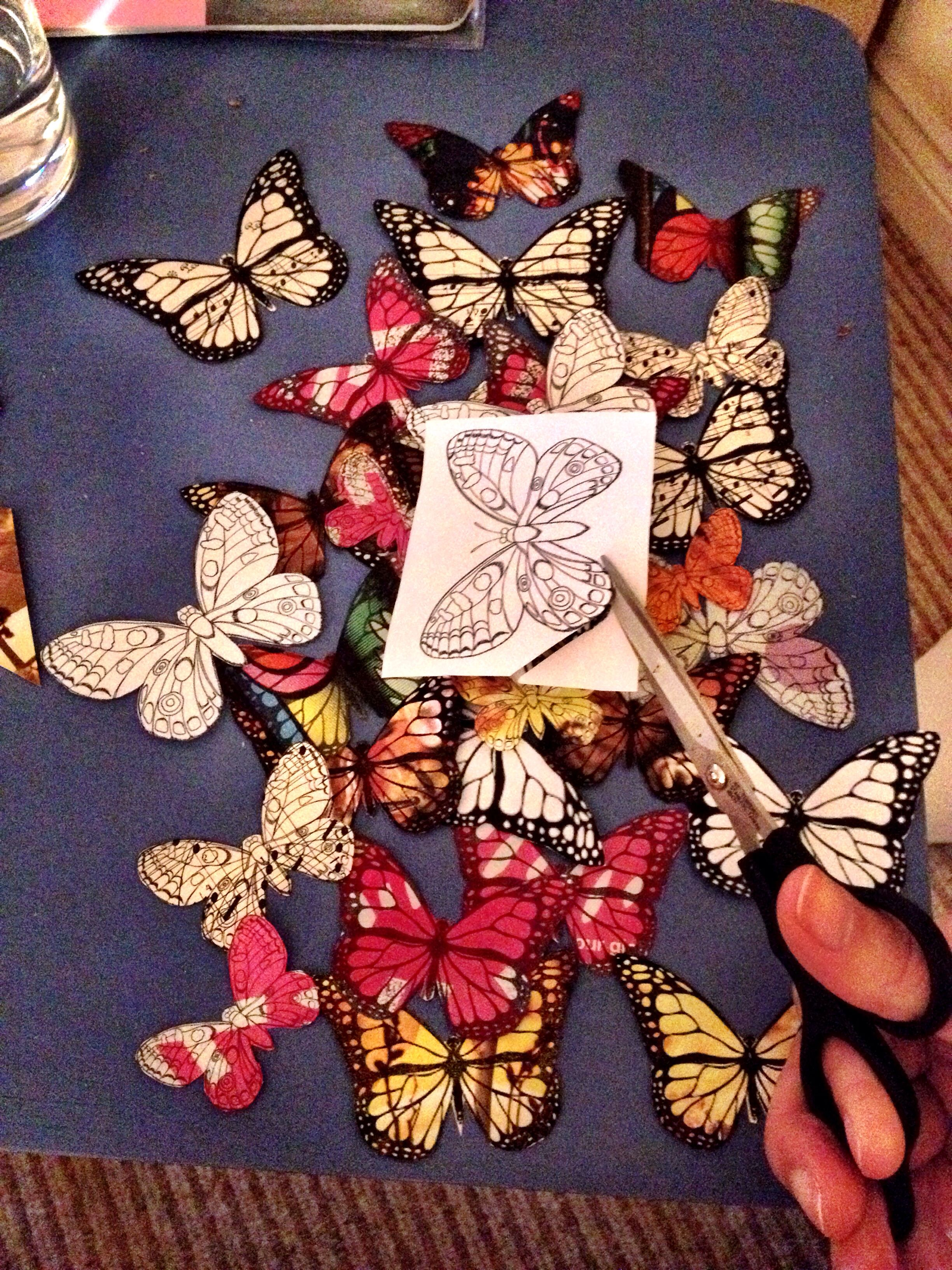 Work in progress...going through a butterfly face (in case you didn't noticed...)