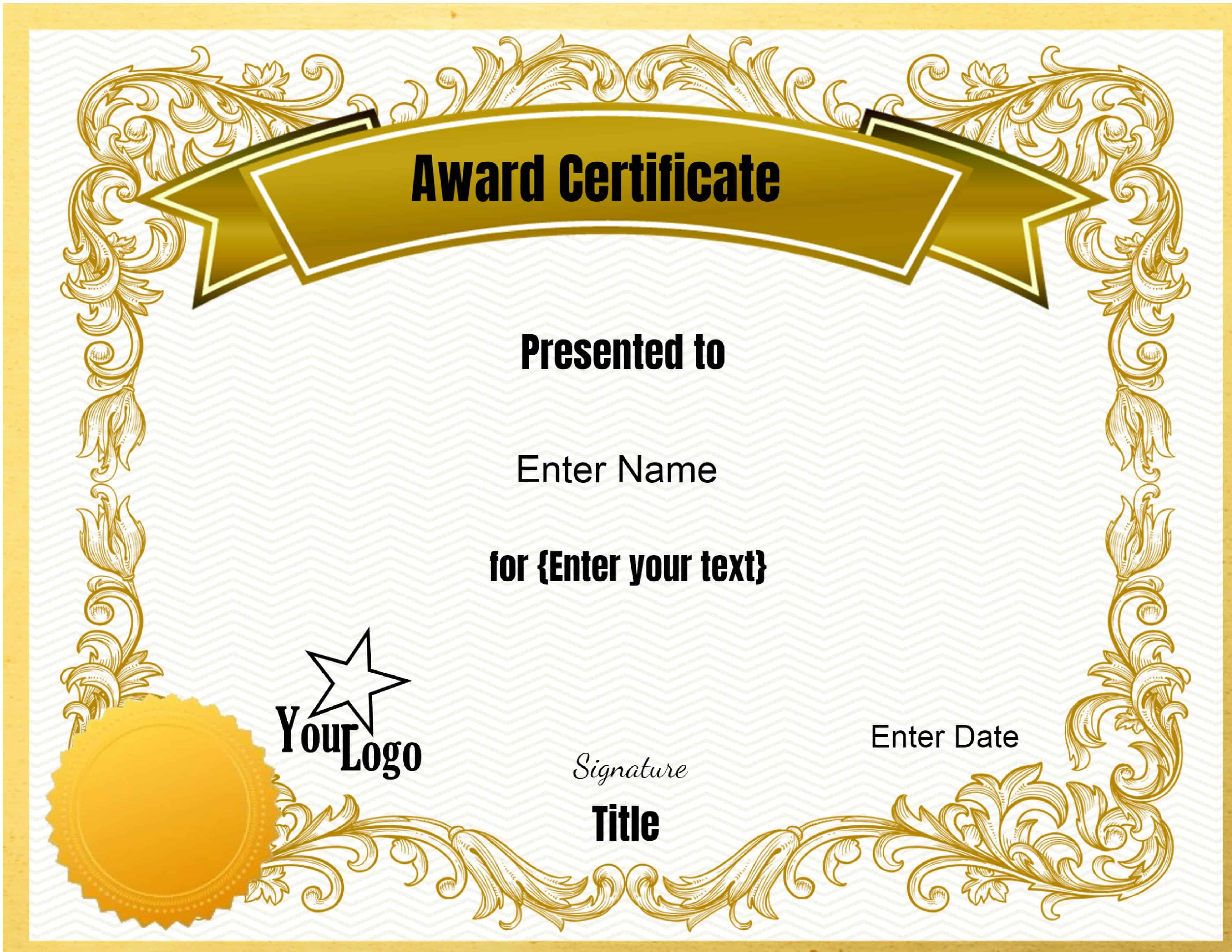 Pin By Cathy De On Screenshots Awards Certificates Template Certificate Design Template Free Certificate Templates Make your own certificate templates