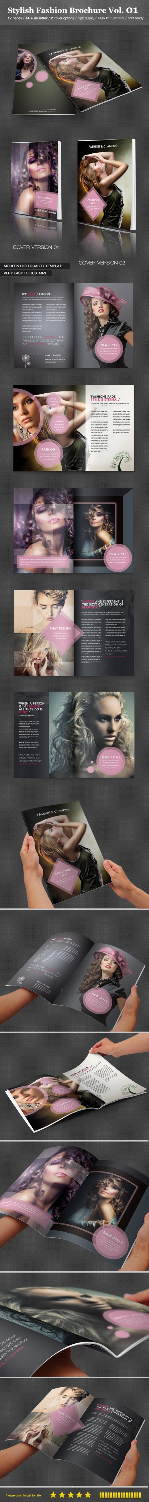 Stylish Fashion Brochure