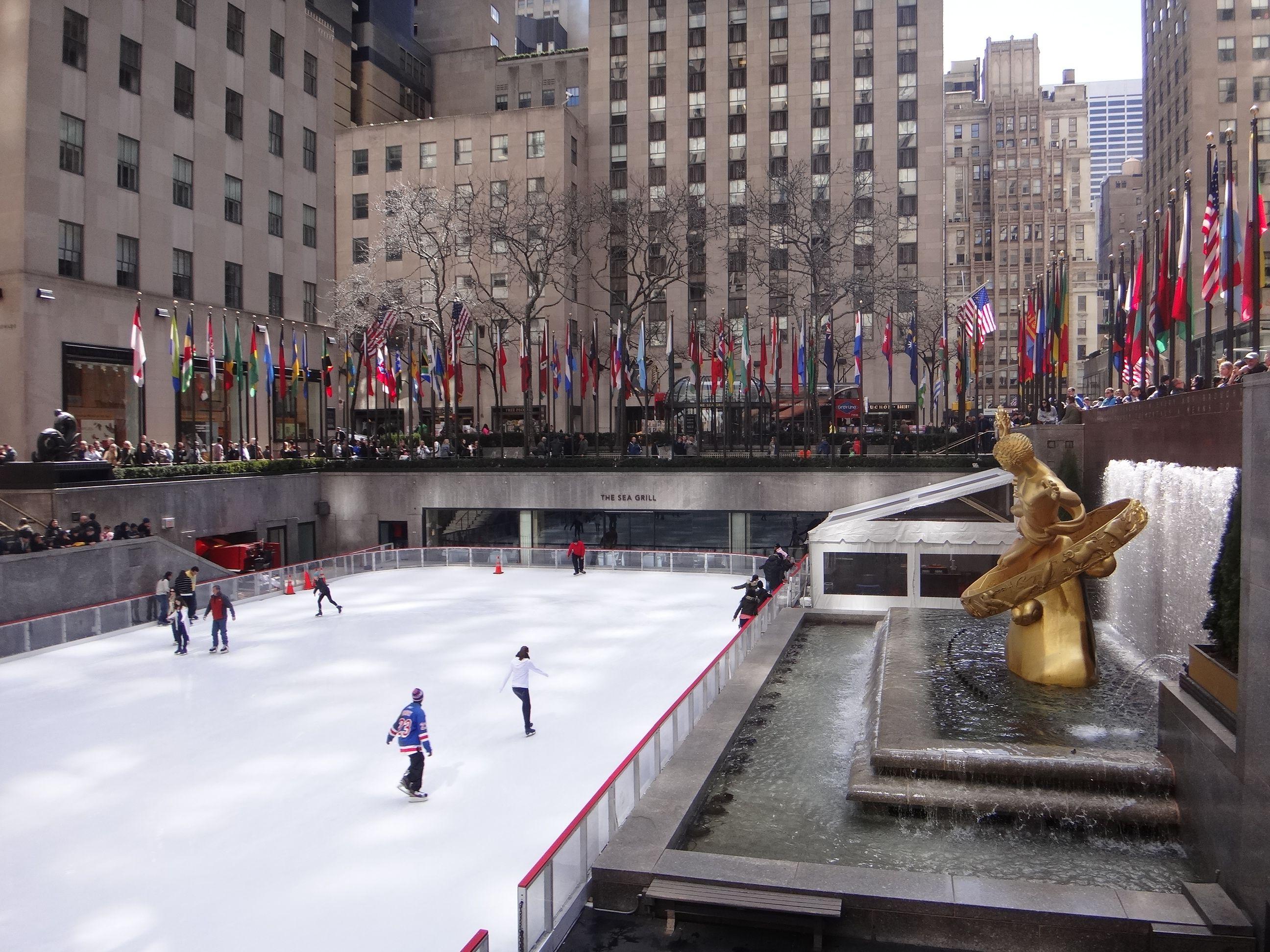 Rockefeller Ice